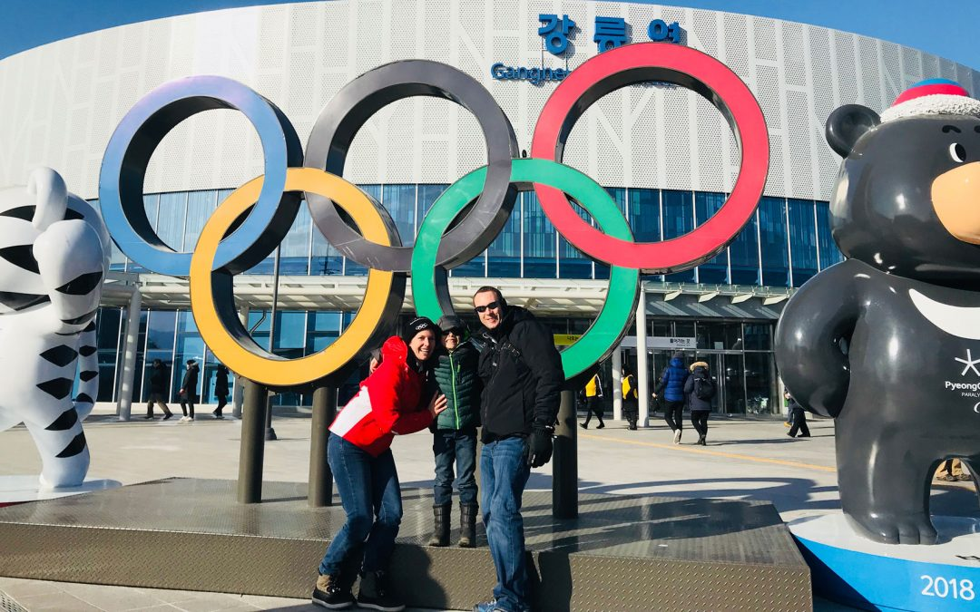 Darren's Visit To The Olympics