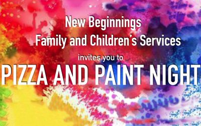 Pizza and Paint Night