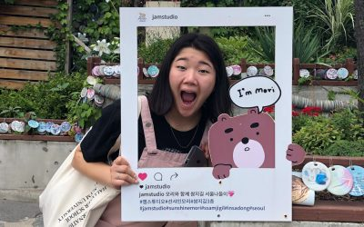 Olivia Visits Korea